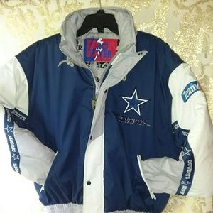 Dallas cowboys all embroidered pro player jacket